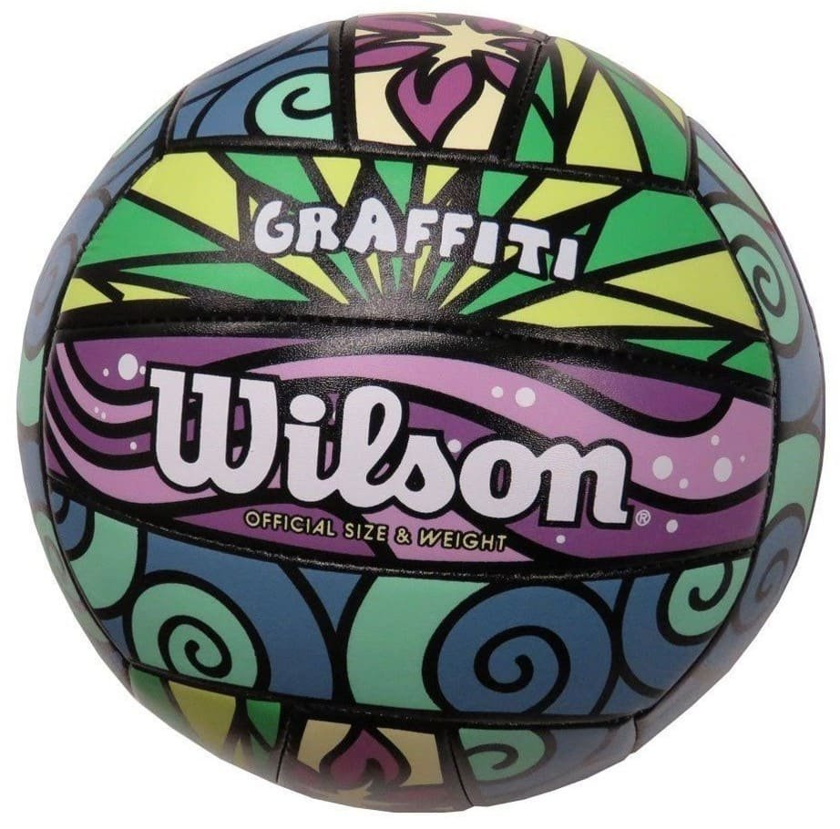 Wilson Volleyball Graffiti