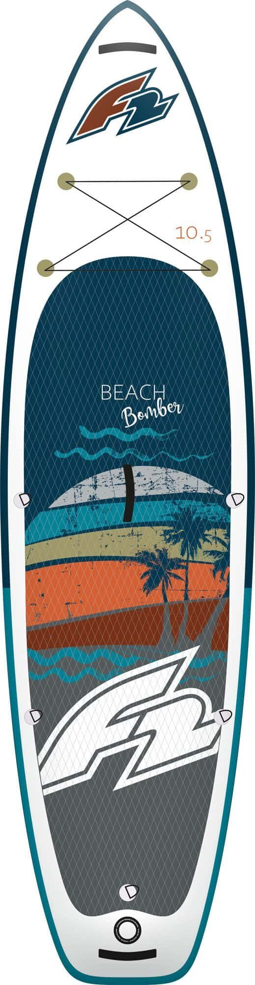F2 Beach Bomber Stand Up Paddle Set