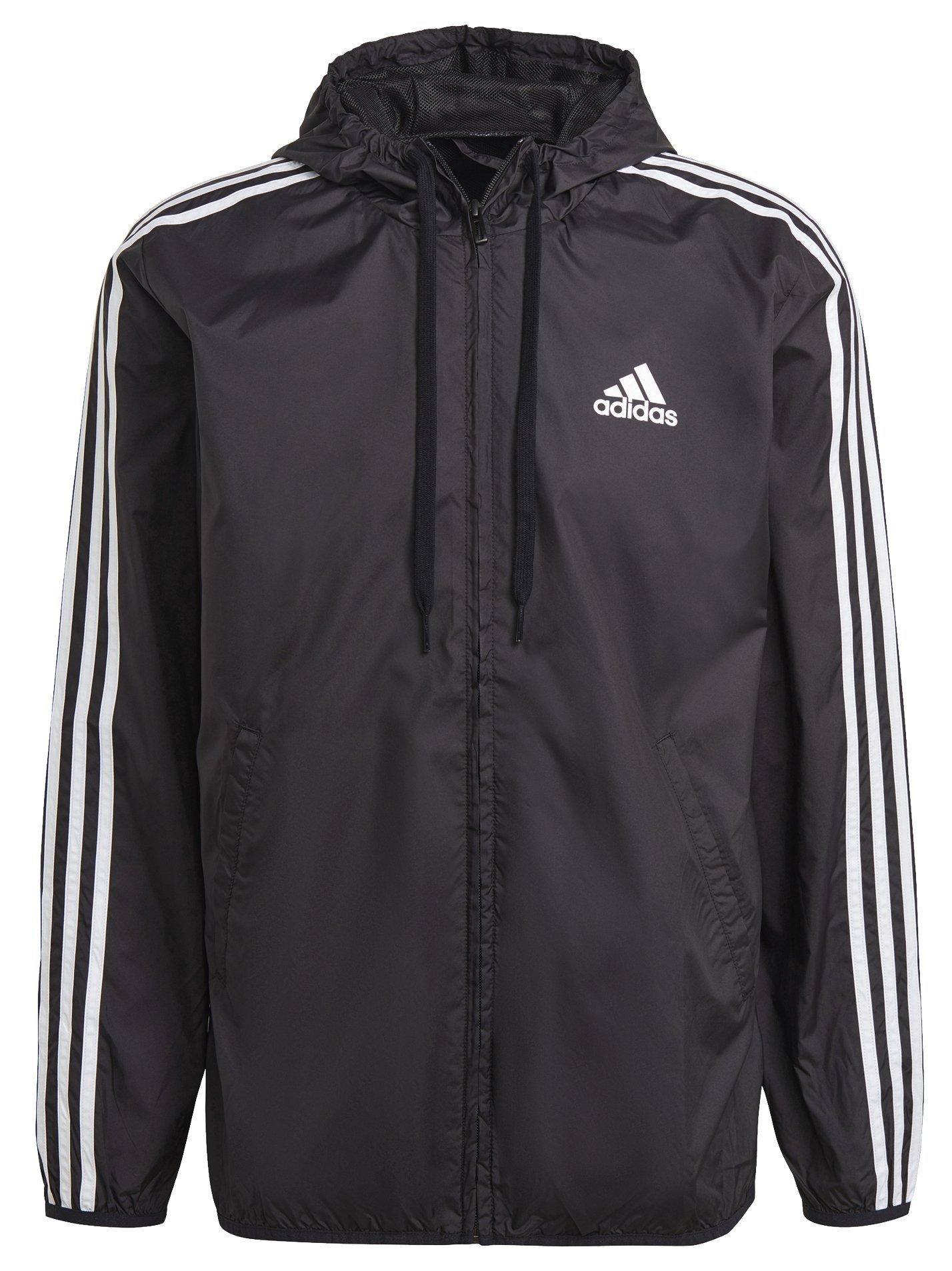 Levně Adidas Primegreen Essentials 3-Stripes Windbreaker S