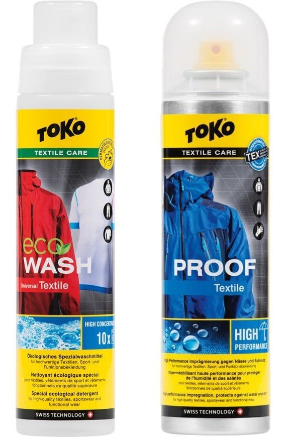 Toko Duo-Pack Textille Proof and ECO Textile Wash 2x 250 ml 2x