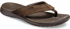 Crocs Santa Cruz Leather Flip M